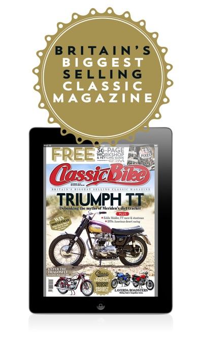Classic Bike Magazine review screenshots