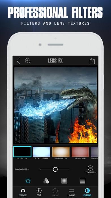 LensFX Epic Photo Effects Screenshots