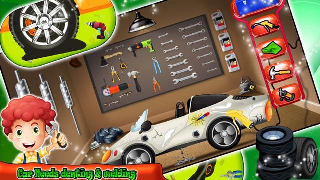 дети автосервис гаражно Fix Автомобили Механик игр Screenshot
