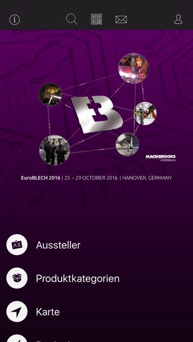 Screenshot von EuroBLECH1