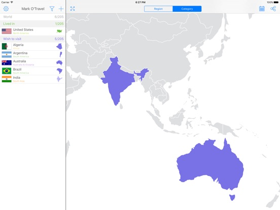 Mark OTravel Your Travel Map Where Youve Been On The App Store - Make a map of us with dots of cities visited