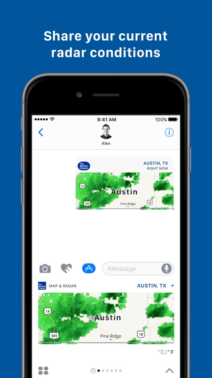 The Weather Channel for iMessage by The Weather Channel