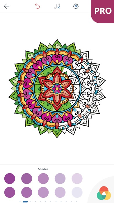 Mandala Coloring Pages For Adults PRO By PEAKSEL Doo