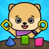 Shapes & colors toddlers games - kids puzzles free