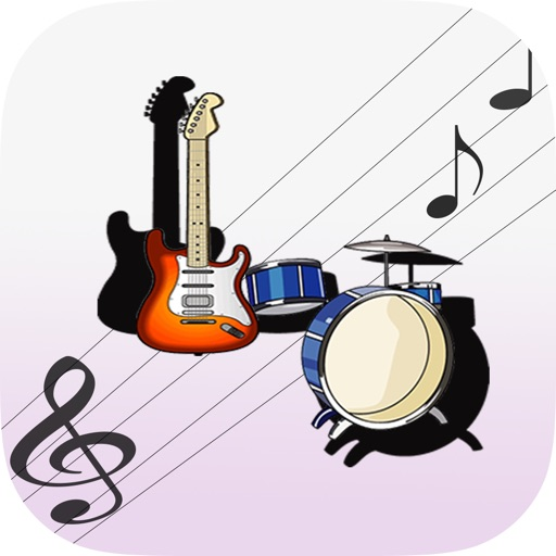 Music Instrument Shape Puzzle iOS App