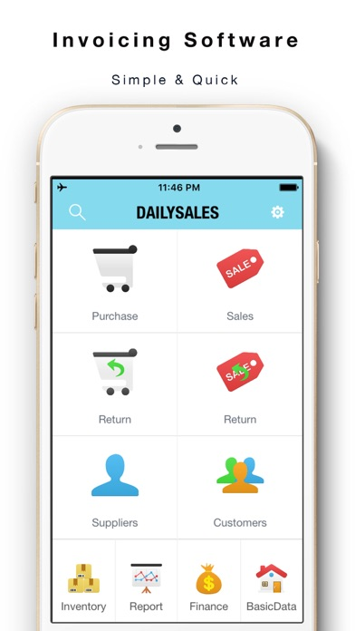 Daily Sales Tracker 2 -Items storage,Stock tracker on the App Store
