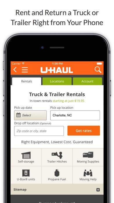 U-Haul on the App Store