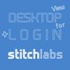 DESKTOP VIEW + LOGIN for stitchlabs