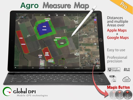 agro measure map pro by global dpi on the app store
