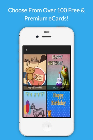 Happy Birthday Wish App By Uply Media screenshot 2
