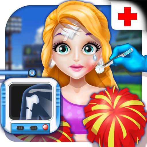 Cheerleader Injury Emergency - Surgeons Game iOS App