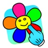 Color & Draw For Toddlers ! Paint Sparkles