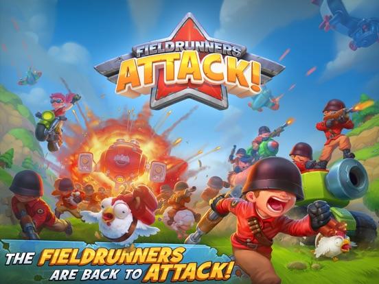 Fieldrunners Attack! на iPad