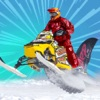 SnowMobile Stunt Trail - Snow Mobile Stunt Games