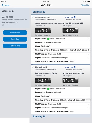 Concur - Travel and Expense Screenshot