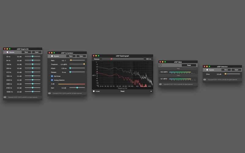Fluctus  - Audio Editor Screenshots