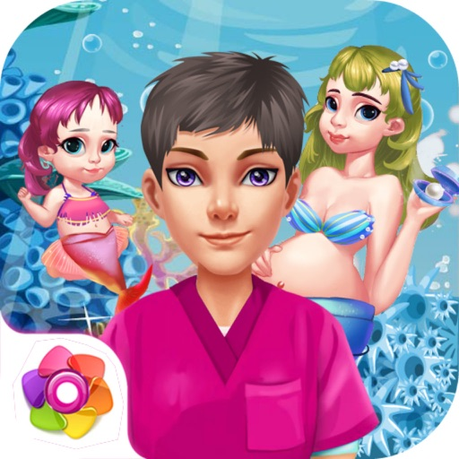 Mermaid Lady's Baby Manager iOS App