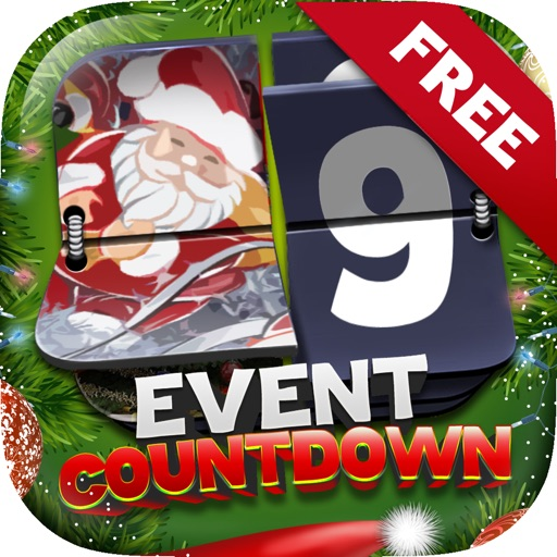 Event Countdown Wallpapers for Merry Christmas iOS App