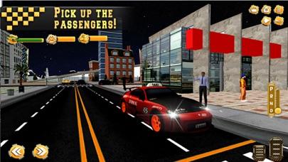 In Taxi: Drive Simulation 2016 screenshot 2