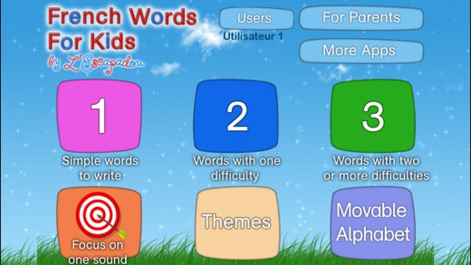 French Words for Kids - Learn Letter Sounds Screenshots