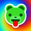 Acid Bears - crazy stickers