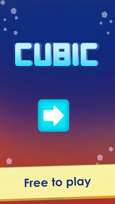 Кубический - форма соответствия головоломки Screenshot