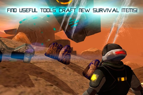 Mars Survival 3D: Cosmic Crash Full screenshot 3