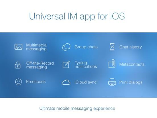 IM+ Instant Messenger Screenshots