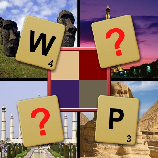 Which Place in the World? Sightseeing Word Quiz iOS App
