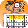 Crossword Puzzle Food: Word Search in the letters table