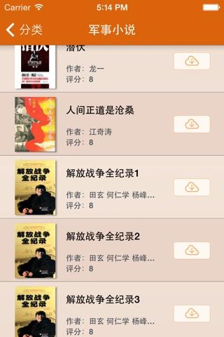 最热军事小说合集 screenshot 2
