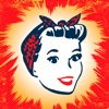 Retro Women - Анимированные стикеры для iMessage