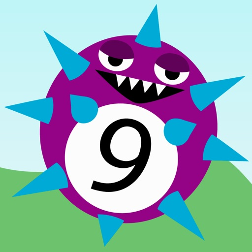 Monster Math - A learning maths game for kids images