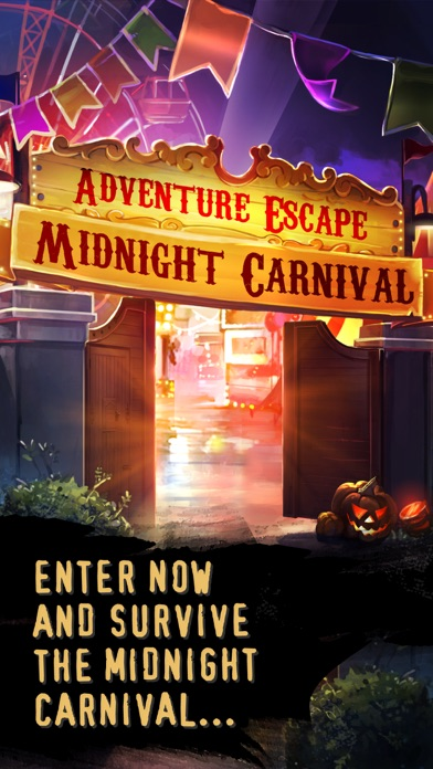 Screenshots of Adventure Escape: Midnight Carnival Mystery Story for iPhone