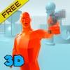 Red Superhot Time Shoot 3D