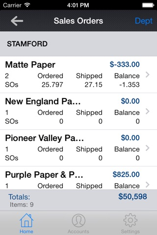 cieMobile for iPhone screenshot 3