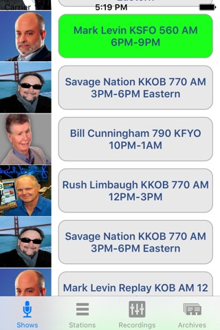 Conservative Talk Radio Live screenshot 1