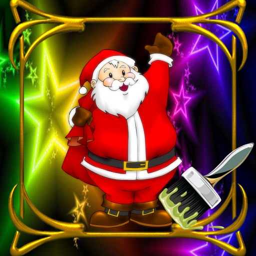 Book Colouring For Merry Christmas Version iOS App