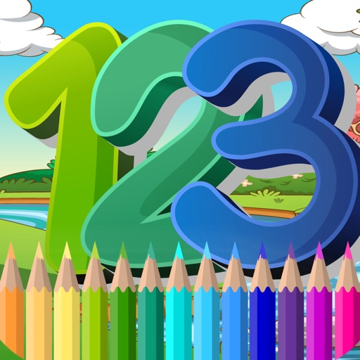 Coloring Book Page Painting Color Game for Kids iOS App