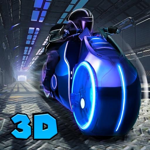 Light Bike: Neon Riptide Racing 3D Full iOS App