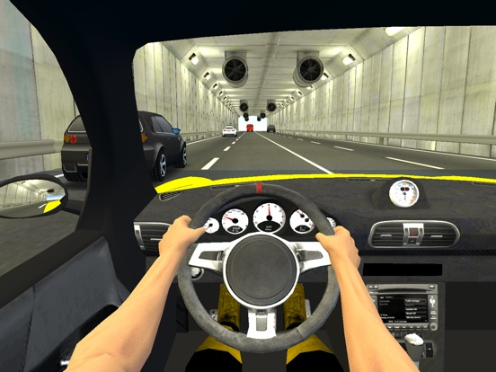 Racing in City - Traffic Driving Simulation Game на iPad