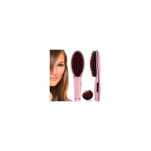 My Hair Straightening Brush Icon