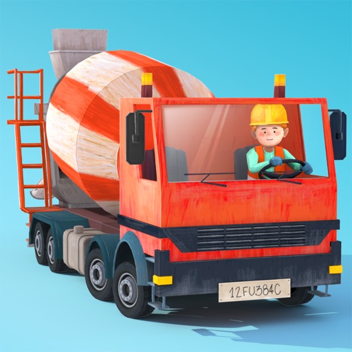 Little Builders - Trucks, Cranes & Digger for Kids