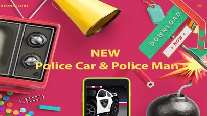 Cops & Robbers! Police Car Games For Kid Policeman Screenshot on iOS