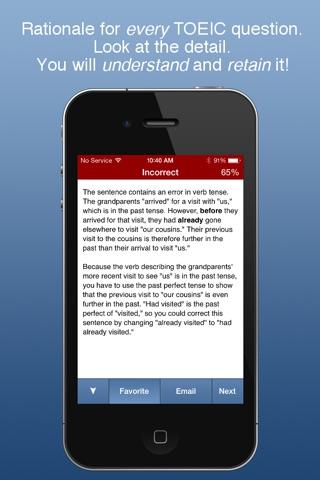 TOEIC Prep TestBank! screenshot 4