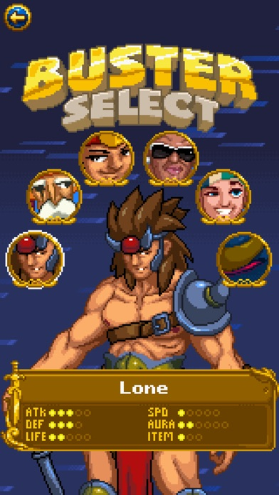 Treasure Buster Screenshot
