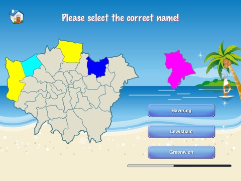 Greater London Puzzle Map screenshot 4