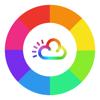 Rainbow Weather Widget - Beautiful Local Forecast