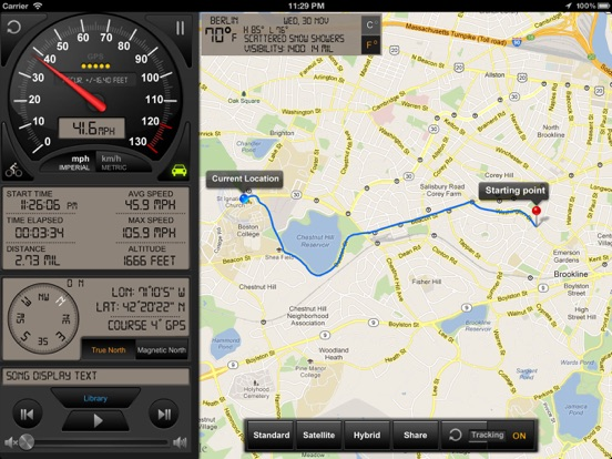 Speedometer GPS+ Screenshots