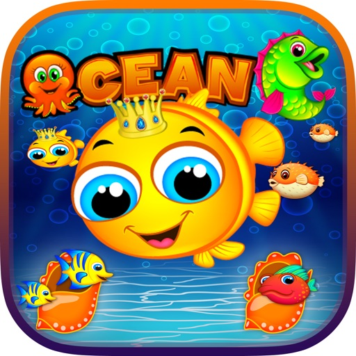 Ocean fish mania best ocean blast match 3 game by chim for Fish mania game